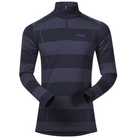 Bergans Fjellrapp Shirt met 1/2 rits Heren, dark navy